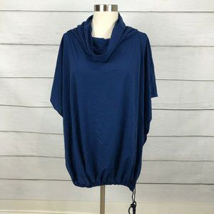 Sunflair Beach Fashion Navy Cowl Neck Cover Up 10